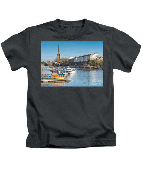 St Mary Redcliffe Church, Bristol Kids T-Shirt