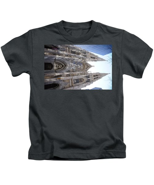 St Patrick's Cathedral Nyc Kids T-Shirt