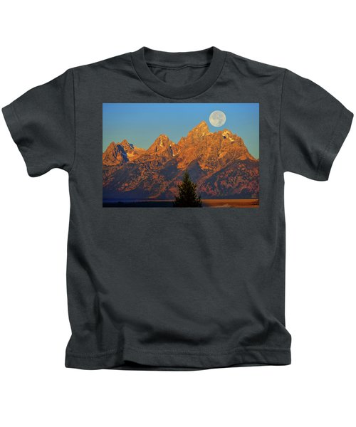 Stairway To The Moon Kids T-Shirt