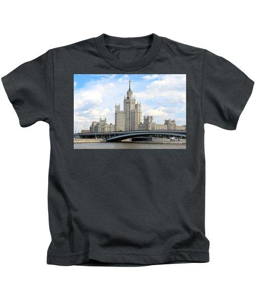 Kotelnicheskaya Embankment Building Kids T-Shirt