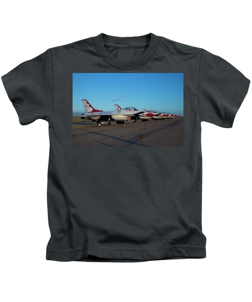 Standing In Formation Kids T-Shirt