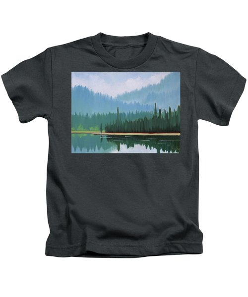 Stanley Lake - Far Shore Kids T-Shirt