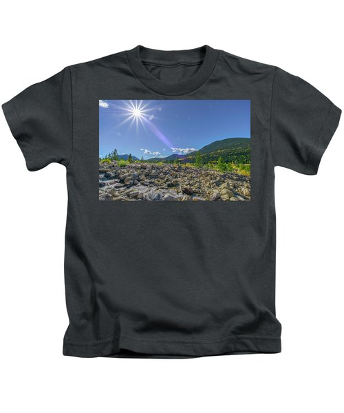 Star Over Creek Bed Rocky Mountain National Park Colorado Kids T-Shirt