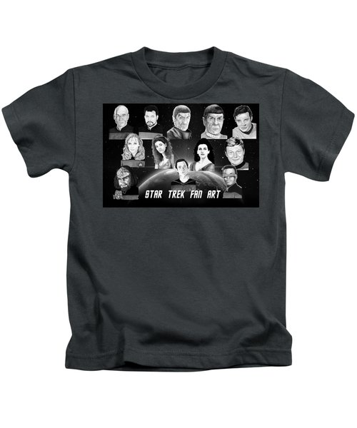 Star Trek Fan Art Kids T-Shirt