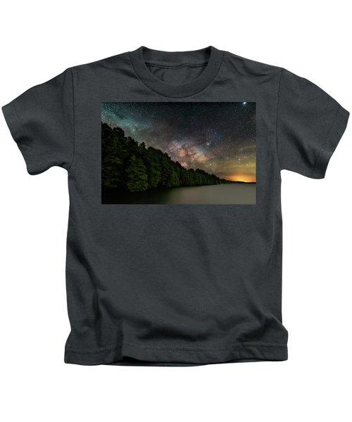 Starlight Swimming Kids T-Shirt