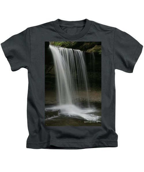 Starved Rock Falls Kids T-Shirt