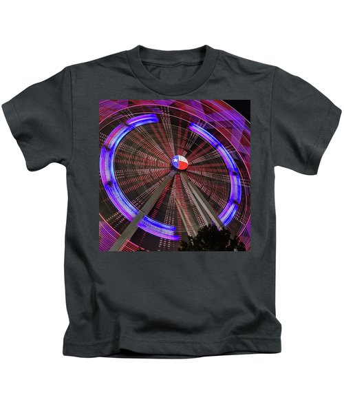 State Fair Of Texas Ferris Wheel Kids T-Shirt