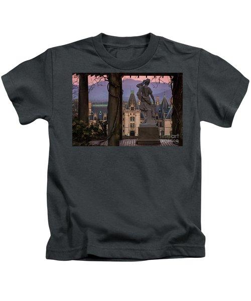 Statue Of Diana Kids T-Shirt