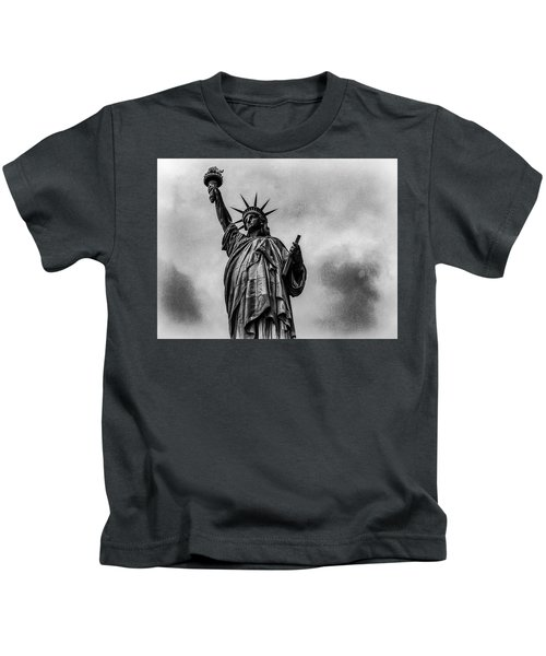 Statue Of Liberty Photograph Kids T-Shirt