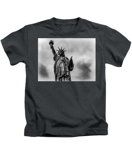 Statue Of Liberty Photograph Kids T-Shirt