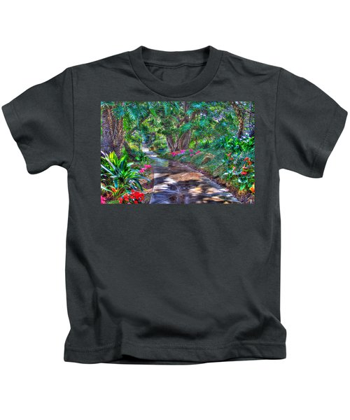 Stay On Your Path Kids T-Shirt