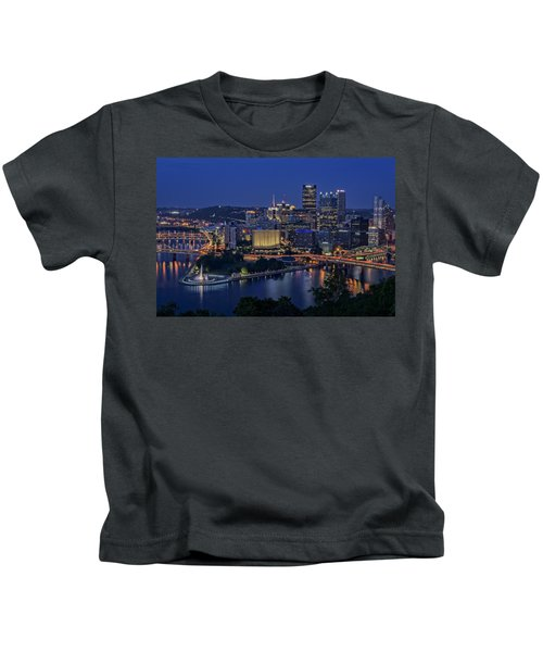 Steel City Glow Kids T-Shirt
