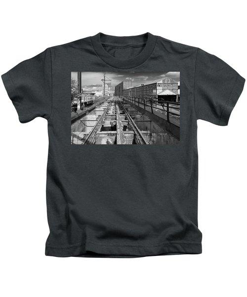 Steelyard Tracks 1 Kids T-Shirt