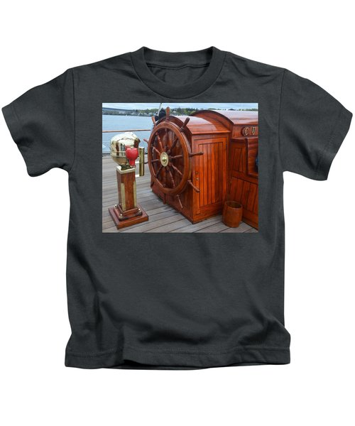 Steer This Kids T-Shirt