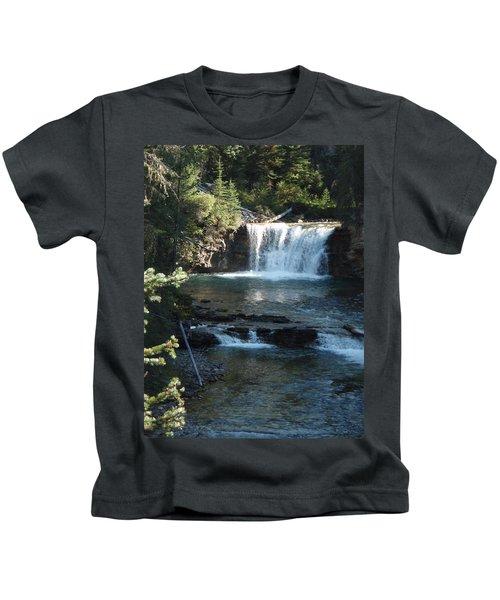 Stella Falls, Johnston Canyon Kids T-Shirt