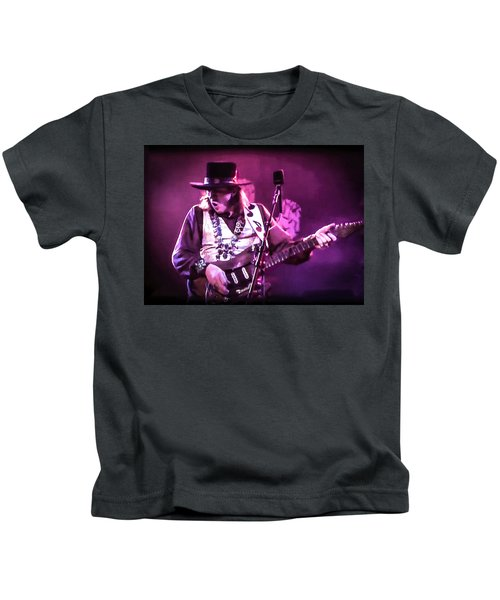 Stevie Ray Vaughan - Change It Kids T-Shirt