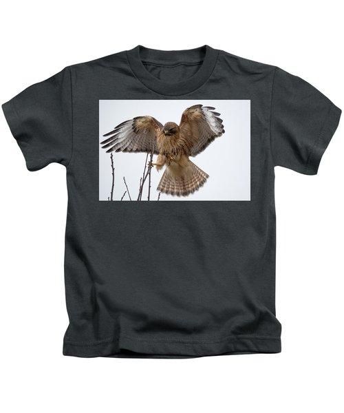 Stick The Landing Kids T-Shirt