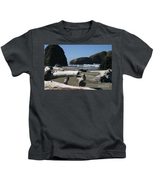 Sticks And Stones Kids T-Shirt