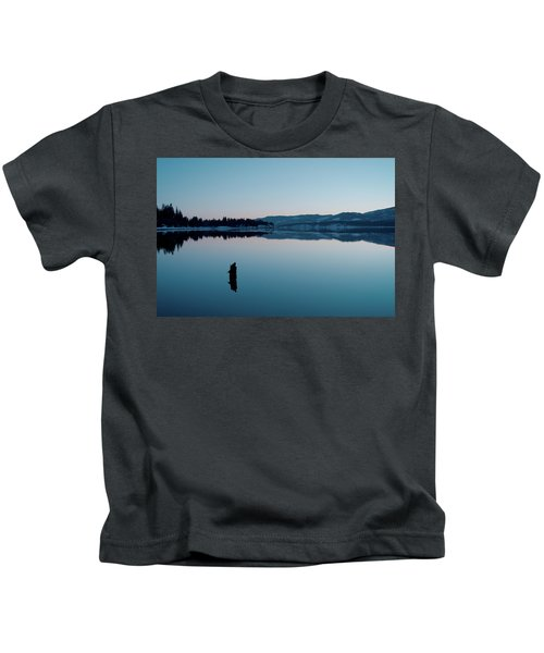 Still Blue Kids T-Shirt