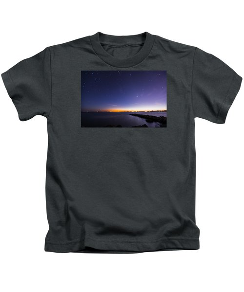Stonington Skies Kids T-Shirt