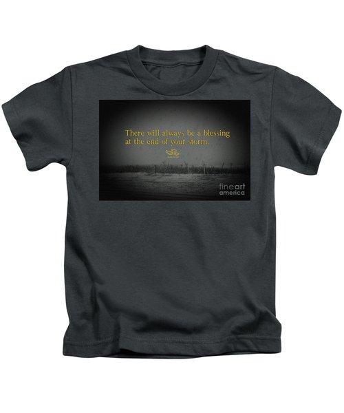 Storm Blessings Kids T-Shirt