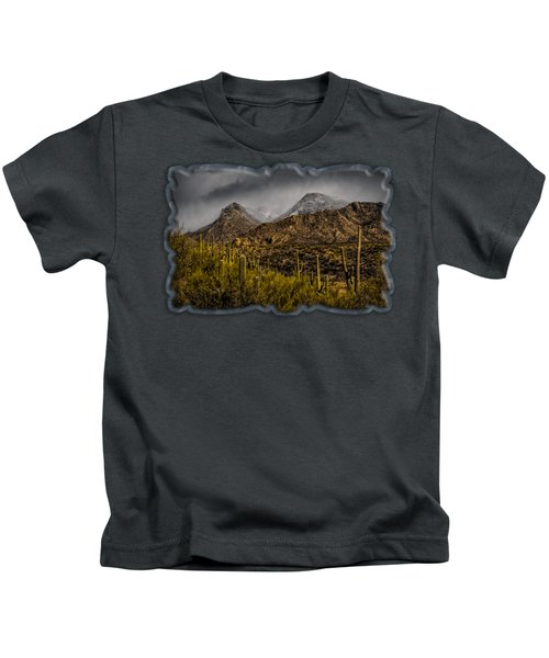 Storm Over Catalinas 15 Kids T-Shirt