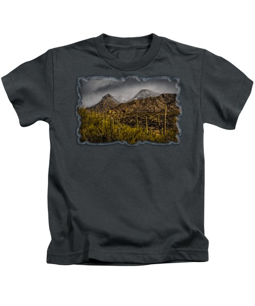 Storm Over Catalinas 15 Kids T-Shirt