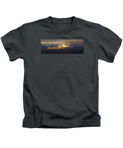 Stormy Skyscape Kids T-Shirt