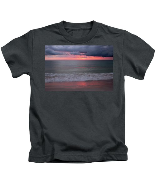 Stormy Sunset Kids T-Shirt