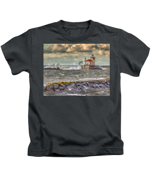 Stormy Waters Kids T-Shirt