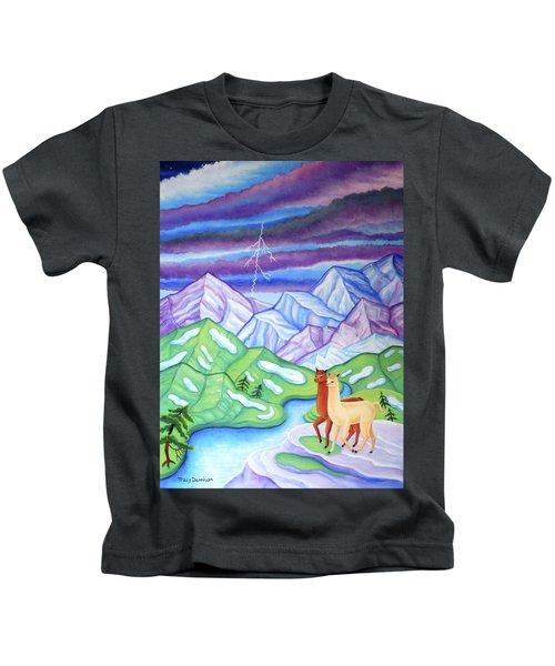 Stormy Weather Kids T-Shirt