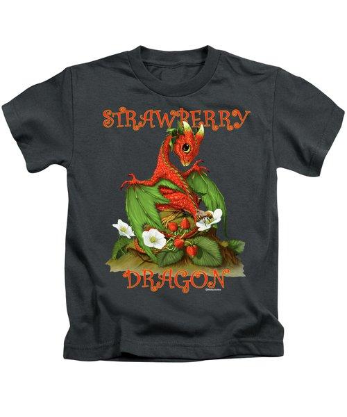Strawberry Dragon Kids T-Shirt