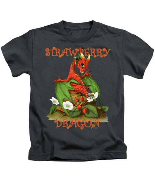 Strawberry Dragon Kids T-Shirt
