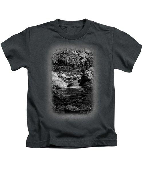 Stream In Autumn No.18 Kids T-Shirt