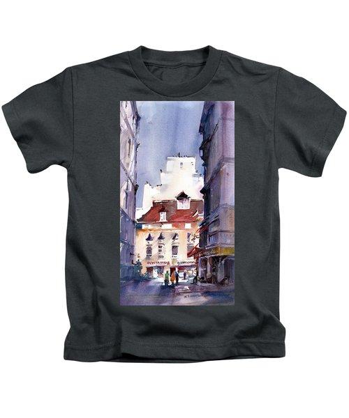 Parisian Stroll Kids T-Shirt
