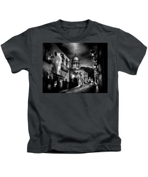 Street To The Nun's Church Kids T-Shirt