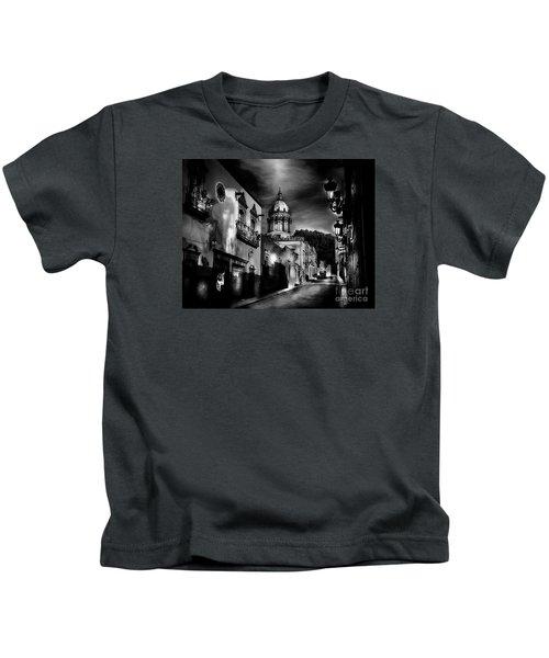 Street To The Nun's Church Kids T-Shirt