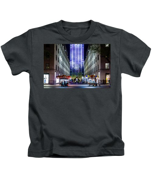 Rockefeller Center Kids T-Shirt