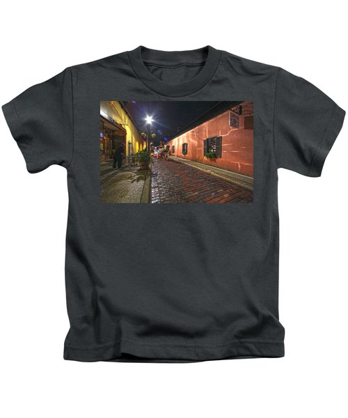 Streets Of St Augustine Kids T-Shirt