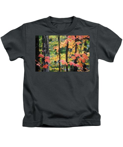 Stringing Up The Colors Kids T-Shirt