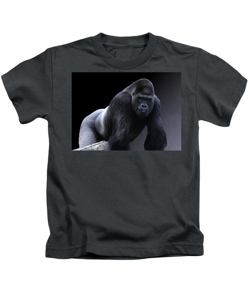 Strong Male Gorilla Kids T-Shirt