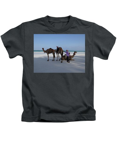 Stubborn Wedding Camels Kids T-Shirt