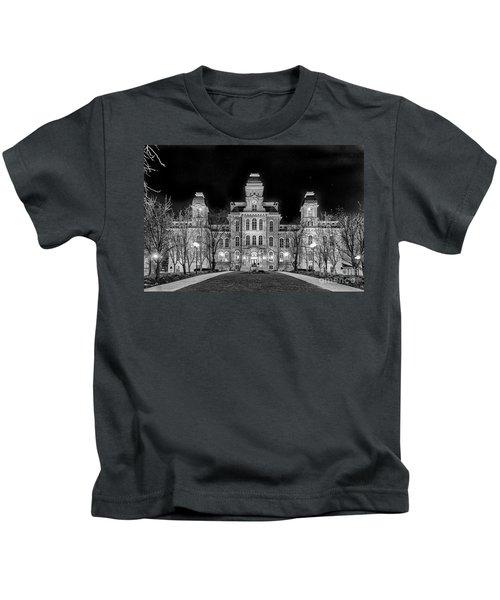 Su Hall Of Languages Kids T-Shirt
