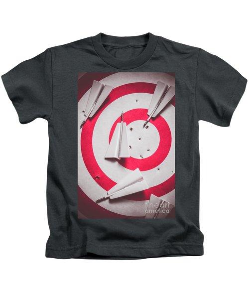 Success And Failures. Business Target Kids T-Shirt