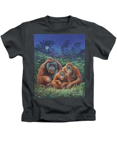 Sumatra Orangutans Kids T-Shirt