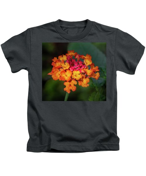 Summer Floral Colors Kids T-Shirt