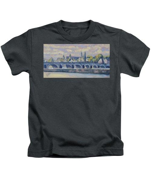 Summer Meuse Bridge, Maastricht Kids T-Shirt