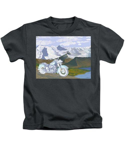 Summer Ride Kids T-Shirt