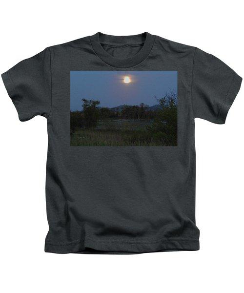Summer Solstice Full Moon Kids T-Shirt