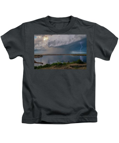 Summer Thunderstorm Kids T-Shirt